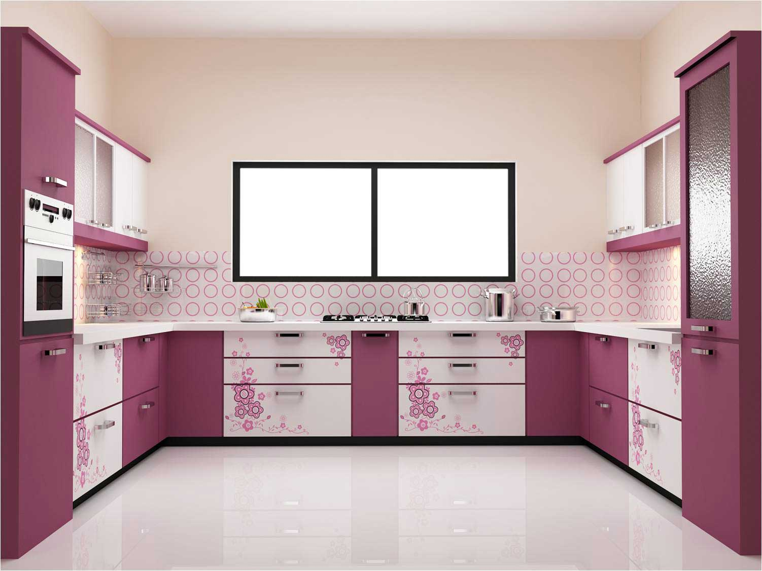Modular kitchen installation interior decoration kolkata for Modular kitchen shelves designs