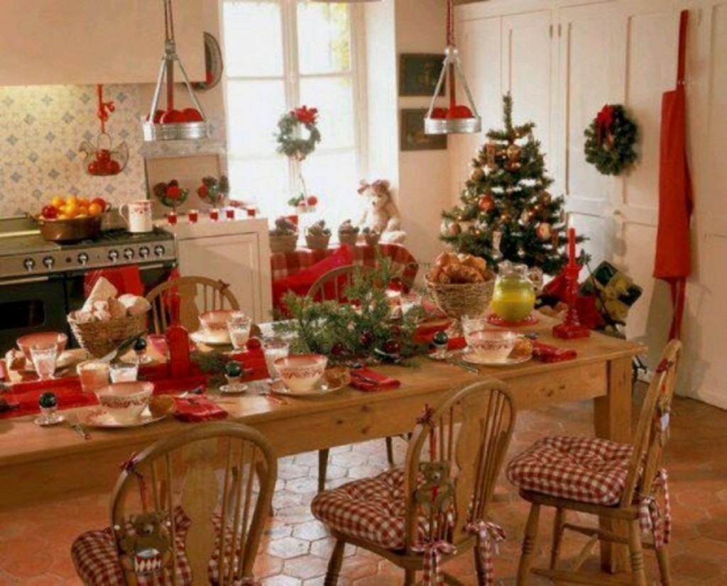 christmas kitchen decorations