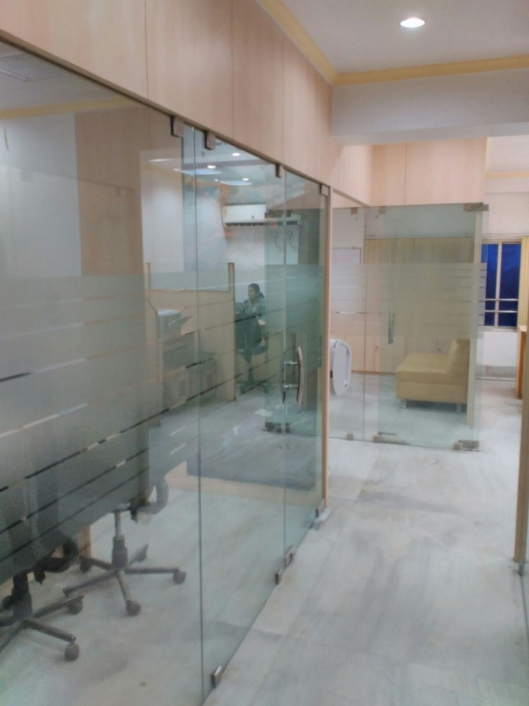 Toughened Glass Partition For Office Efficient Enterprise
