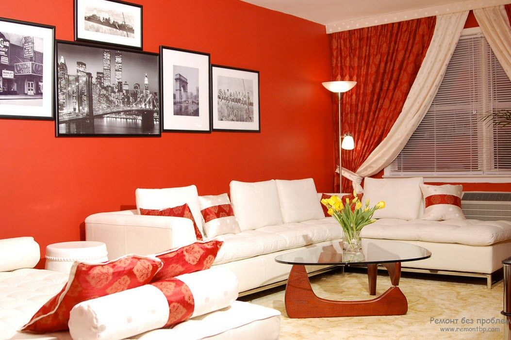 what colour of your room is telling about your personality - Red