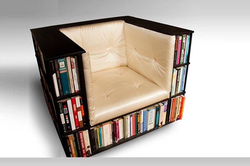 the chair shelf bookshelf ideas