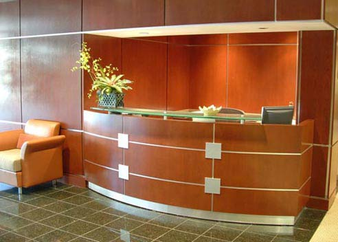 reception office design